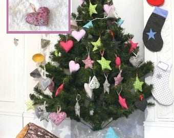 Liberty heart pink Interior, perfect for Christmas tree