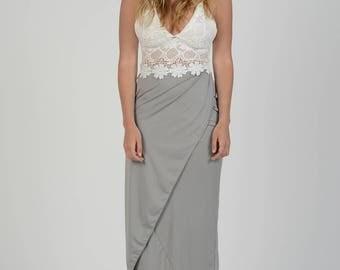 Two-Piece Maxi dress