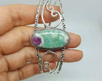 Ruby in FUCHSITE natural stone