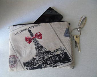 Pouch and bag paris Tower