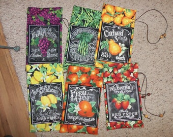 Produce gift bags