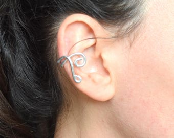 Aluminum wire EAR CUFF earring
