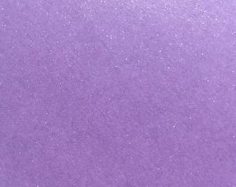 Card and matching purple Pearlescent envelope