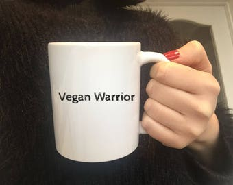 Vegan Mug,Vegan Warrior,Vegan Inspiration Gift,Vegan Sticker,Vegan Swearing,Vegan Gift,Funny Vegan Gift,Vegan Slim Wallet,Ethics vegan Gift