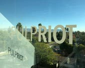 Pulp Riot Window Clings