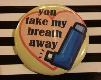 Eddie Asthma Pin
