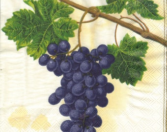 CLUSTER of grapes 1 towel 33 X 33 X 4 pattern 144