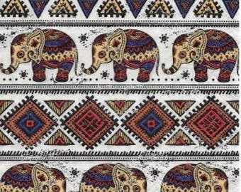 373 very beautiful ELEPHANTS 1 33 X 33 X 4 design paper napkin