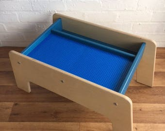 Child's small Play Table/lego table