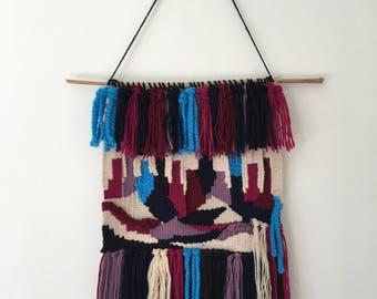 Handmade Weave - Pink, White, Blue
