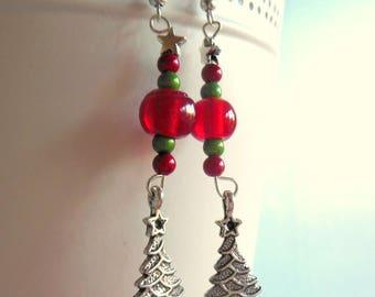 """unique earrings """"my beautiful tree"""""""