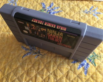 Ninja Gaiden Trilogy NTSC-U SNES *Repro* cart only