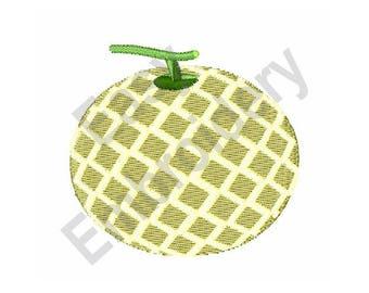Melon - Machine Embroidery Design
