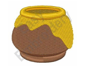 Honey Pot - Machine Embroidery Design