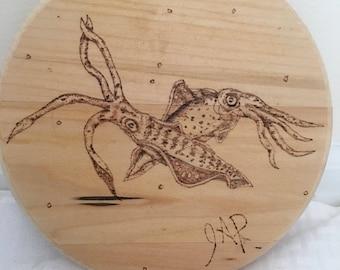 Dancing squids
