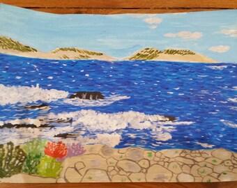 Marseille and beach