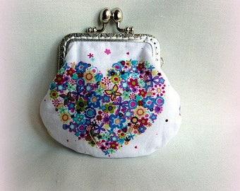 PRETTY heart wallet