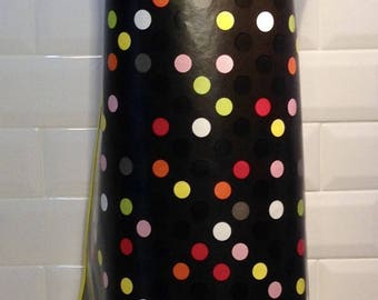 Yellow trimmed apron ★ Funky Dots ★ to be chic in the kitchen or garden!
