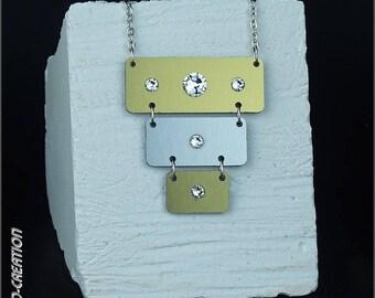 """Necklace collection SYLCO """"FUROA"""" (gold/silver/black)"""