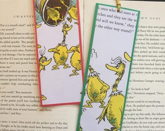 The Sneeches by Dr. Seuss Bookmark