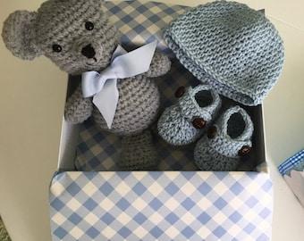 baby boy gift set  baby shower handmade