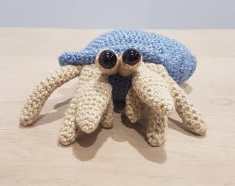 Crochet Hermit Crab Plus Toy