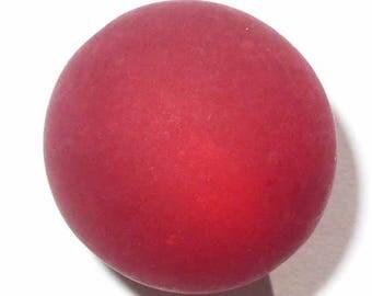 5 red siam polaris 5 beads 12mm beads