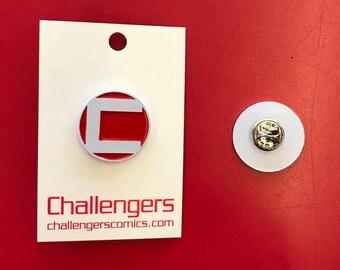 "Challengers ""C"" Soft Enamel Pin"