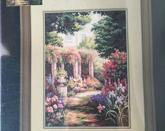 """Dimensions Gold Collection """"Floral Retreat"""" Cross Stitch Kit #35079"""
