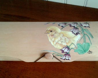 Hand painted wooden decor chick Kit