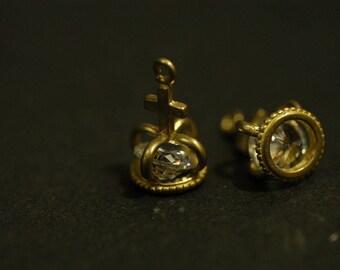 A bronze brass steampunk diamond Crown
