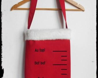 """""""Radinomètre"""": tote bag of Christmas"""