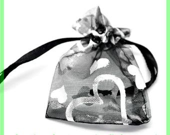 organza bag 9 X 7 cm pouch N2 to embellish your gifts