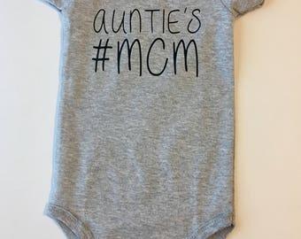 Aunties MCM Onesie