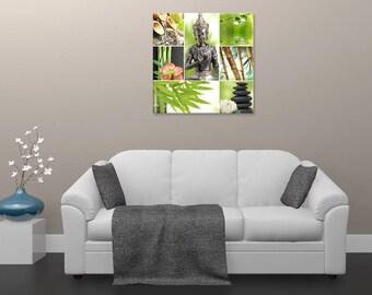Zen painting, zen composition, digital art