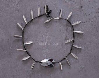 Choker with Swarovski Crystals. Jewelry