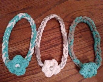 Flower Headband Set of 3