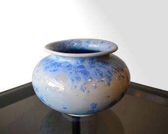 Australian Art Pottery Crystalline Vase