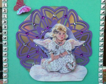 the 3D card angel of tenderness on CD