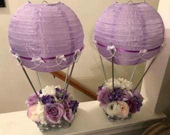 Hot Air Balloon Centerpieces