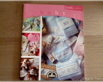 Baby DMC cross stitch booklet