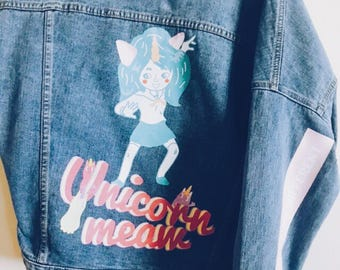 Monsty ( Girl Monster ) Jacket