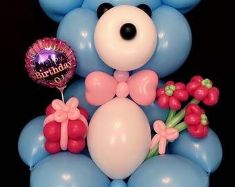 Large teddy bear balloon