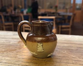 Doulton Lambeth stoneware rare miniature jug