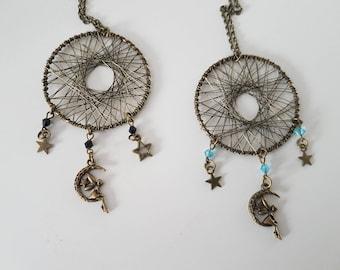 Bronze fairy necklace choice