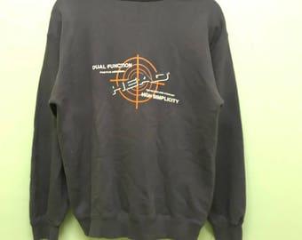 Head Sweatshirt Pullover Small Logo Spellout Big Picture Print