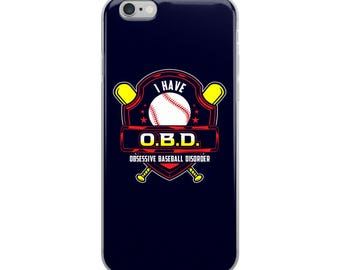 Baseball iPhone Case - Baseball Phone Case - Baseball Gift