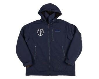 Veste de quart Marine Nationale | Vintage Marine Nationale Deck Jacket