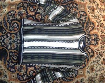 Striped Sweater size 2x