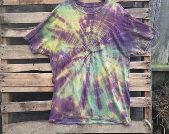 Mens xl one of a kind tie dye